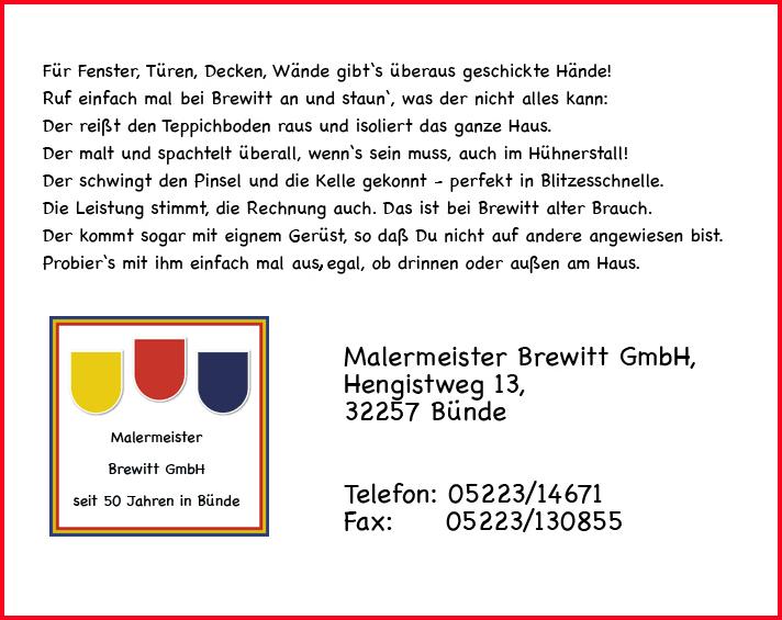 Malermeister Brewitt GmbH
